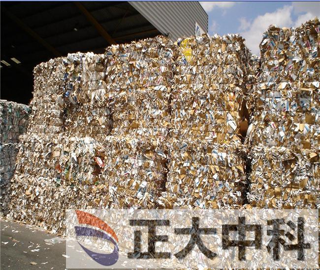 全自动废纸打包机高效率工作逐渐标准化